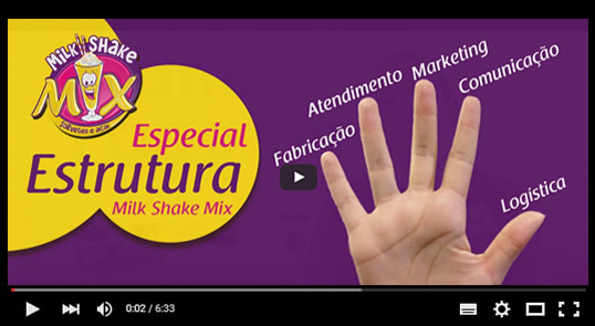 Estrutura Milk Shake Mix