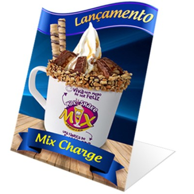 DISPLAY DE BALCÃO - MIX CHARGE NA CANECA