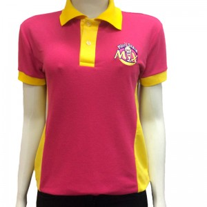 Camiseta Polo Feminina Milk Shake Mix
